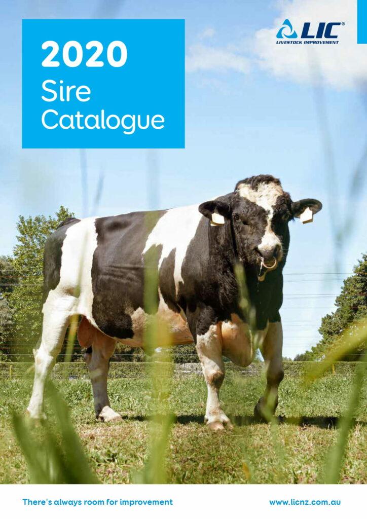 2020 Sire Catalogue LIC Australia Cover