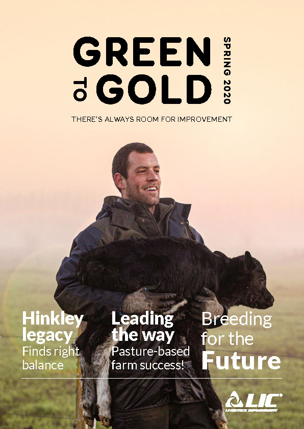 LIC Australia Green to Gold - Spring 2020 Cover